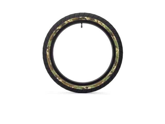 "Eclat Fireball BMX Tyre 20x2.40"", negro/Multicolor"